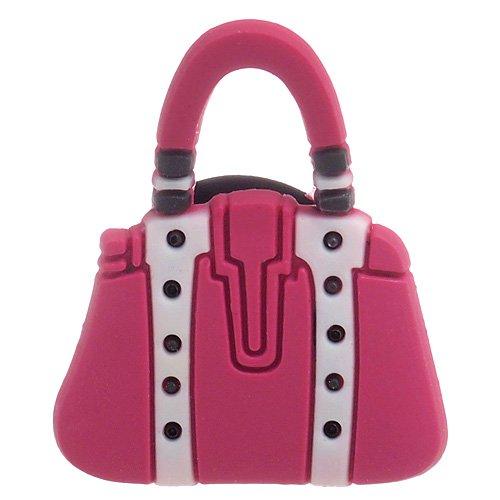 DIY Jewelry Making: Pink Purse Croc Charm Jibbitz Style