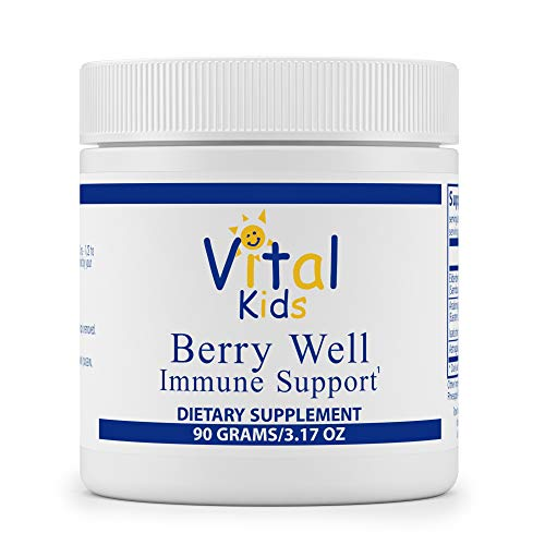 Vital Nutrients – Berry Well Immune Support for Kids – Supports and Maintains Healthy Immune System Function – Vegetarian – 90 Grams of Powder