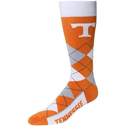 NCAA Tennessee Volunteers Vols Argyle Unisex Crew Cut Socks - One Size Fits (Tennessee Volunteers Ncaa Design)