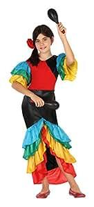 Atosa 26872 - Samba, niño, tamaño 10-12 años, multicolor