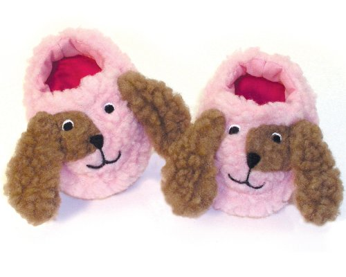 Doll Slippers Puppy Dog