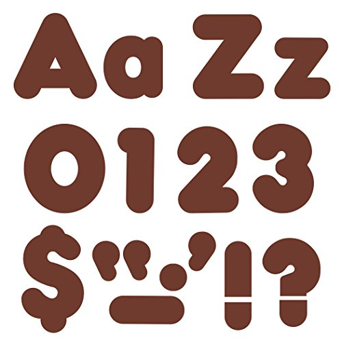 """TREND enterprises, Inc. Chocolate 4"""" Casual Combo Ready Letters -  T-79904-078628799040"""