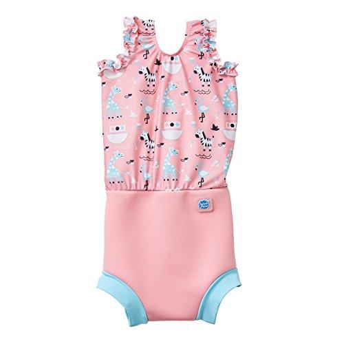 - Splash About Girl's Happy Nappy Swim Diaper Swimsuits (Nina's Ark, 2-3 Years)