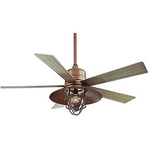 Hampton bay metro 54 in indooroutdoor rustic copper ceiling fan by hampton bay metro 54 in indooroutdoor rustic copper ceiling fan by hampton bay aloadofball Image collections