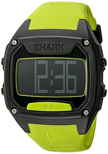 Freestyle Unisex 10025777 Shark Tooth Digital Display Japanese Quartz Yellow Watch ()