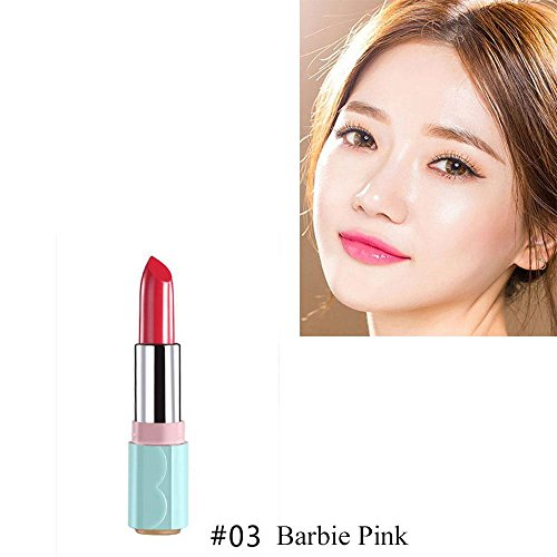 Barbie Candy Lipstick (Oceaneshop Cosmetic Candy Balm Women Makeup Moisturizing Mist Lipstick Velvet Lip Gloss Long Lasting)