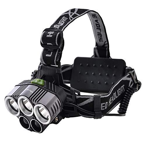Tomo Light LEDヘッドライト 充電式 対防水コーティング 10000ルーメン 5点灯モード