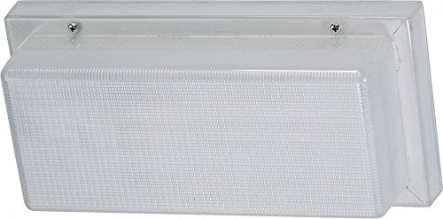 Nuvo 65/002 Compact Fluorescent Wallpack, White