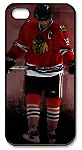 icasepersonalized Personalized Protective Case for iPhone 5 - NHL Chicago Blackhawks #19 JONATHAN TOEWS by runtopwell