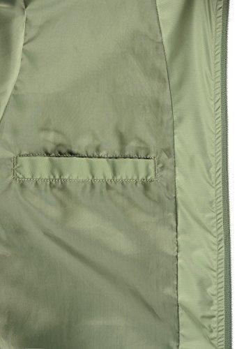 Green Transizione Blend Uomo Collo Giacche Giacca Da Alto 77202 Bomber Con Oil Di Trapuntata Craz rxwIrqO