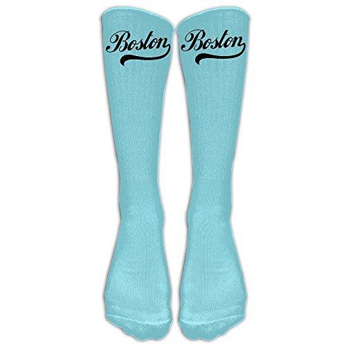 SARA NELL Men Women Funny Novelty Socks Boston American Crew Socks Classic Sport Athletic Socks 40Cm Long Tube Socks Stockings-Best Gift Sock