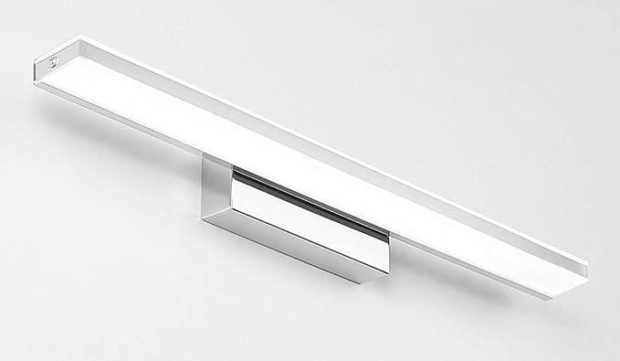Aplique LED for espejo de baño Lámpara de espejo rectangular ...