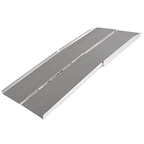 Silver Spring WCMF-6 Aluminum Multi-Fold Wheelchair Ramp - 6' Long