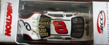 Dale Sr Earnhardt Race (2003 July 4th Daytona Busch Race Winner Clean Paint Scheme Car Dale Earnhardt Jr #8 Dale Earnhardt Sr Legend E Logo & E-Guitar Hood Logo Daytona Tribute Concert 1/64 Scale Diecast Car Hood Opens)
