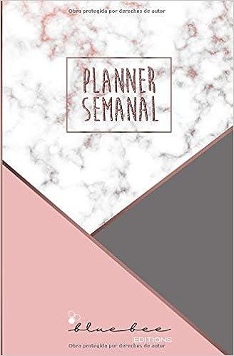 Amazon.com: Planner Semanal: Marble - Formato bolsillo ...