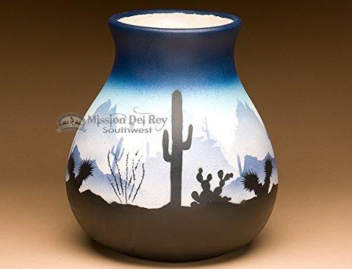 Navajo Pottery (Mission Del Rey Native American Navajo Pottery Vase 9