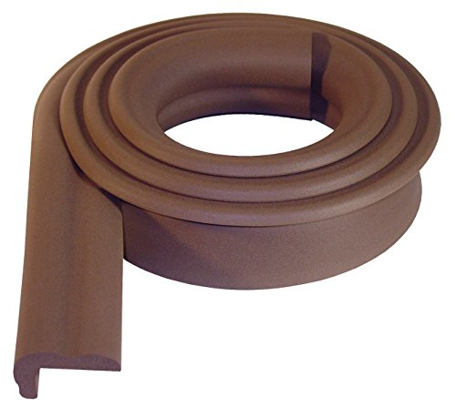 KidKusion Jumbo Edge Cushion, Brown ()