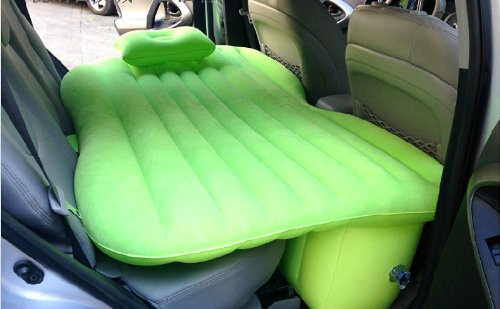 Car Travel Inflatable Mattress Car Inflatable Bed Car Bed (Green) by Fashion outfit (Image #4)