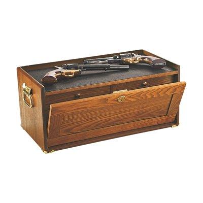 4-Drawer Oak Collector's Base Cabinet, Model# 5615