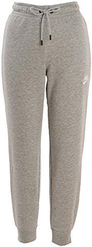 ナイキ(NIKE) ウィメンズ フレンチテリー エッセンシャル タイト パンツ CJ7713 063 Dグレーヘザー/ホワイト M
