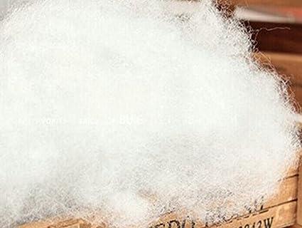 Textilhome   Relleno de microfibra 100% Poliéster   1 kg   relleno