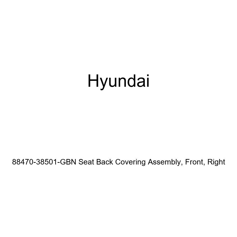 Genuine Hyundai 88470-38501-GBN Seat Back Covering Assembly Right Front
