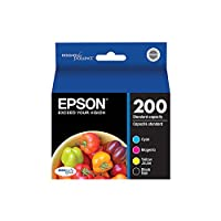 Genuine Epson T200120-BCS (Black, Cyan, Magenta, Yellow, 4-Pack) by Epson