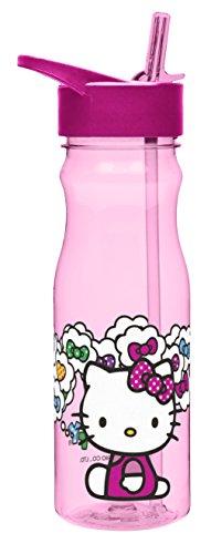 Sanrio Hello Kitty Baby Bottle - Zak Designs Sanrio 25 oz. Reusable Plastic Water Bottle, Hello Kitty
