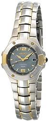 Seiko Women's SXD656 Coutura Two-Tone Watch
