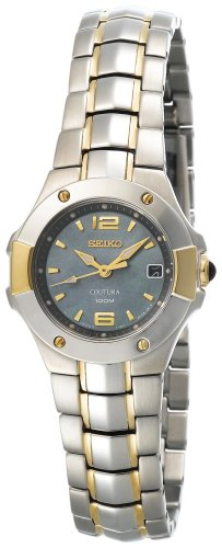 Seiko Coutura Ladies (Seiko Women's SXD656 Coutura Two-Tone Watch)