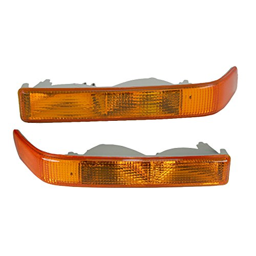 Corner Parking Signal Light Pair for GMC Chevy Blazer Pickup Truck S-15 S10 ()