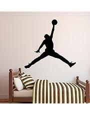 Michael Jordan Jumpman Basketball Wall Decal Sticker Bedroom Sports Decor