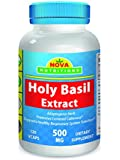 Holy Basil Extract 500 mg 120 Vcaps by Nova Nutritions