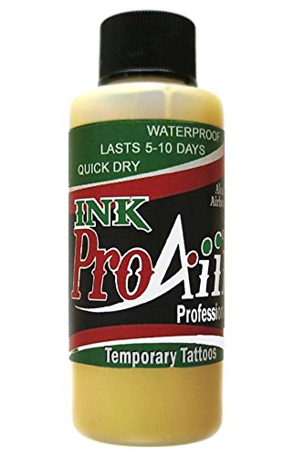Amazon.com : Body Paint - ProAiir Temporary Tattoo Ink - 2.1 oz ...