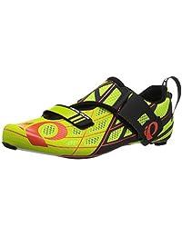 Pearl iZUMi Tri Fly P.R.O. v3 Shoe Men's Triathlon 49 EU Lime Punch-Black
