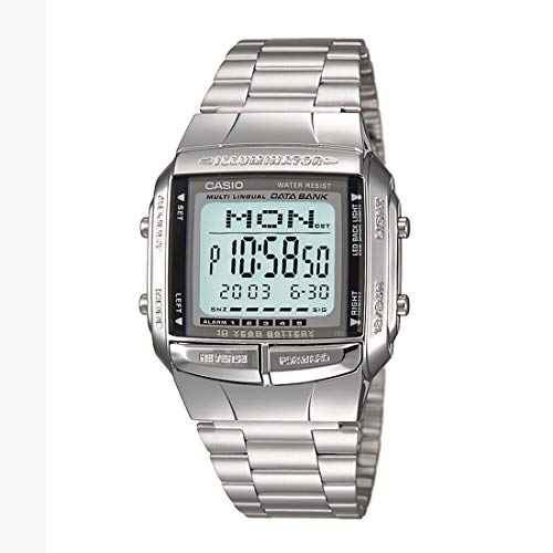 Casio Vintage Series Digital Grey Rectangle Unisex Watch – DB-360-1DF