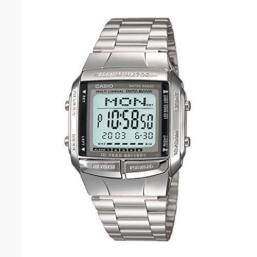 Casio Vintage Series Digital Grey Rectangle Unisex Watch – DB-360-1DF