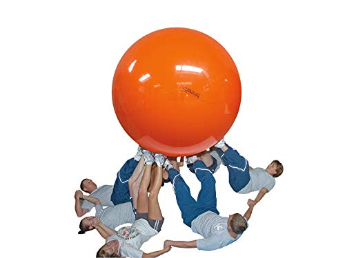 Gymnic Megaball: Group Activity Fitness Ball, Red (180 cm) by Gymnic (Image #3)