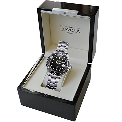 Davosa Swiss Made Men Wrist Watch, Ternos Ceramic 16155550 Professional Automatic Analog Display & Luxury Bezel by Davosa (Image #6)