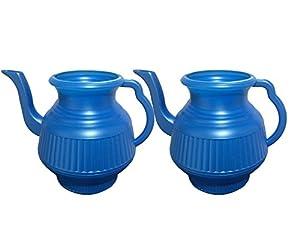 Two Blue Lota Bodna Toilet Wash Jug Amazon Co Uk Kitchen Home