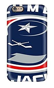 High Quality Shock Absorbing Case For Iphone 6-columbus Blue Jackets Hockey Nhl (41)