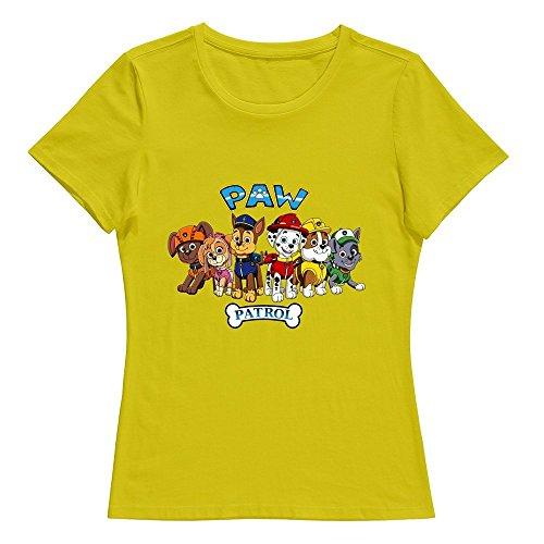 stabe-women-paw-patrol-logo-t-shirt-100-cotton-customized-yellow-s