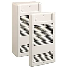 Ouellet OVS2000/BN Thermic Commercial Wall Mounted Heavy Duty Electric Heater Fan Assisted 230v 2KW