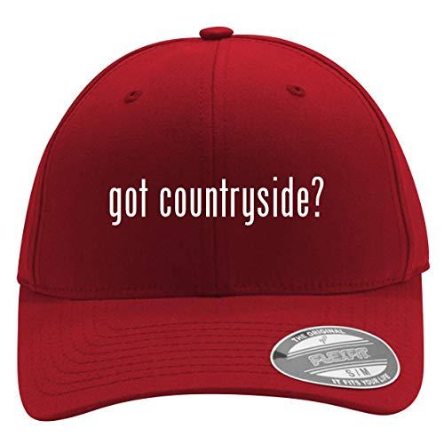 got Countryside? - Men's Flexfit Baseball Cap Hat, Red, Large/X-Large