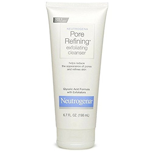 Neutrogena Pore Refining Exfoliating Cleanser, 6.7 Fl Oz (198ml) (PACK OF 2)