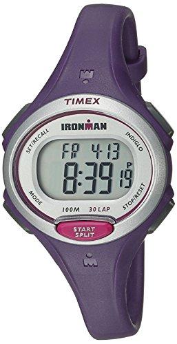 Timex Women's Ironman Essential | Purple Mid-Size 30-Lap Memory Sport TW5K90100
