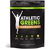 Athletic Greens - Premium Green Superfood Cocktail - Complete Greens Powder Drink - Daily Probiotic - Multivitamin - Antioxidant - Alkaline - Vegan - Non-GMO - Gluten Free - 30 Servings (360g)