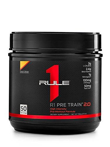 R1 Pre Train 2.0, Rule 1 Proteins (50 servings, Peach Mango)