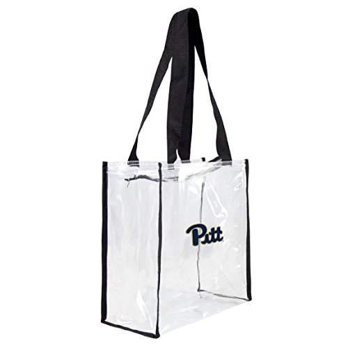 NCAA Pitt Panthers Clear Square Stadium Tote - Square Pittsburgh Panthers