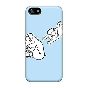 New Arrival Simons Cat Hard Cases For Iphone 5/5s
